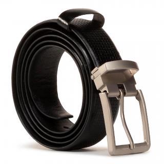 Pánský pásek LASOCKI FOR MEN - 2M2-011-AW20 Black Černá XL