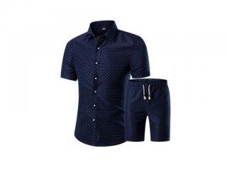 Pánský set - Košile a kraťasy Velikost: XS
