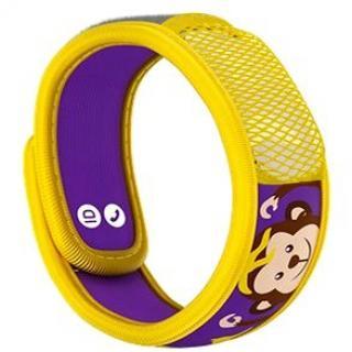 PARAKITO dětský náramek, opička   2 náplně