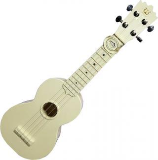 Pasadena WU-21WH Sopránové ukulele Bílá White Soprano Ukulele