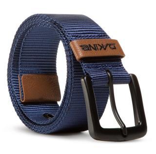 Pasek Męski DAKINE - Ryder Belt 10001918 Belt Midnight Tmavomodrá L/XL