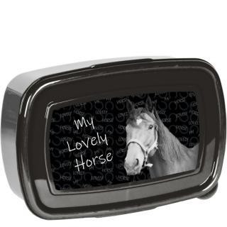 Paso Box na svačinu Horses černý