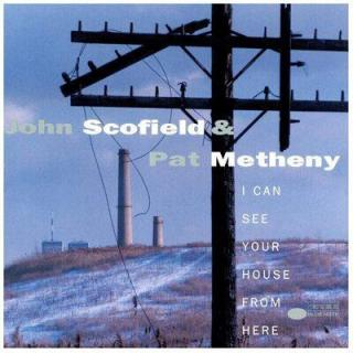 Pat Metheny I Can See Your House From Here  Black