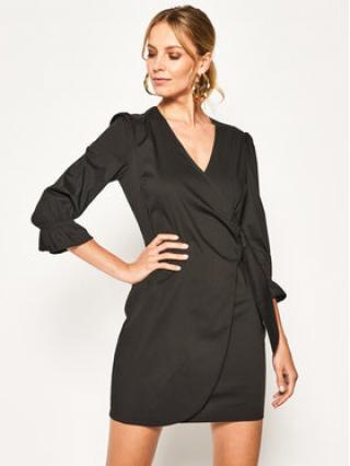 Patrizia Pepe Každodenní šaty 2A2104/A23-K103 Černá Regular Fit dámské 44