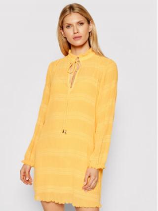 Patrizia Pepe Letní šaty 8A0854/A8R2-R713 Oranžová Regular Fit dámské 38