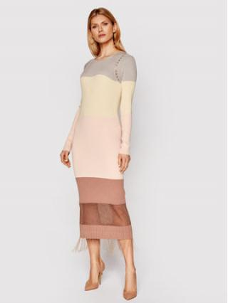 Patrizia Pepe Úpletové šaty 8A0792/A8M7-X759 Barevná Regular Fit dámské I