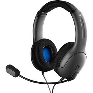 PDP LVL40 Wired Headset - černý - PS4