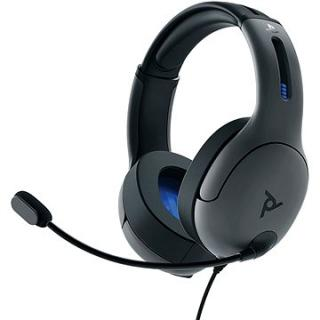 PDP LVL50 Wired Headset - šedý - PS4