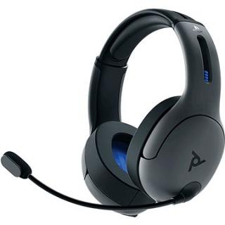 PDP LVL50 Wireless Headset - šedý - PS4