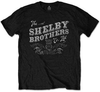 Peaky Blinders Černá XL Filmové tričko Black XL