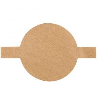 Pečicí papír kulatý 100 ks Velikost: S