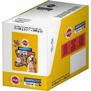 Pedigree Dentastix Chewy Chunx hovězí MAXI pamlsky pro psy 5 × 68g