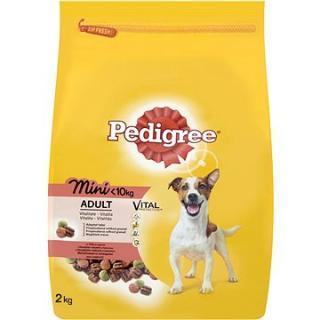 Pedigree Mini s hovězím a drůbežím 2 kg