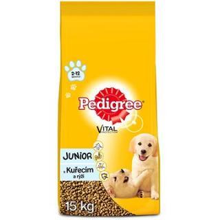 Pedigree Vital Protection granule kuřecí a rýže pro štěňata středních plemen 15kg
