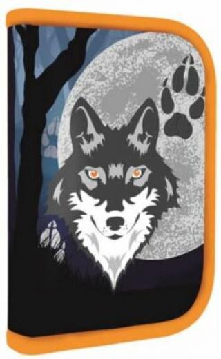 Penál 1 patrový s chlopní, naplněný vlk