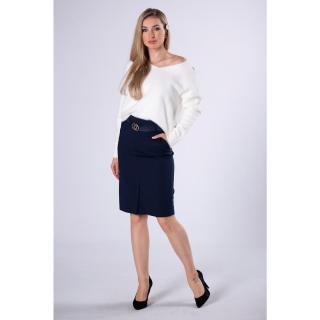 pencil skirt with belt dámské Neurčeno 36