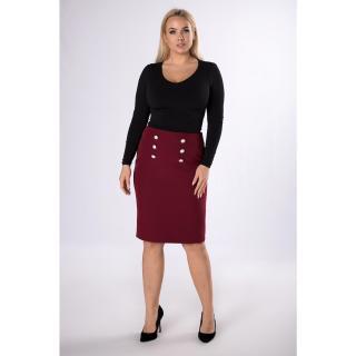 pencil skirt with buttons dámské Neurčeno S