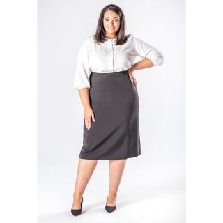 pencil skirt with decorative stitching dámské Neurčeno 46