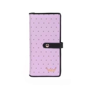 Peněženka dámská VUCH Black Dots Collection pánské fialová One size