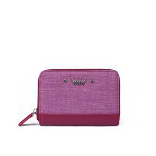 Peněženka dámská VUCH Zippy Collection dámské růžová One size