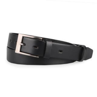 Penny Belts Pánský kožený opasek 30-100 - 105 černá 105