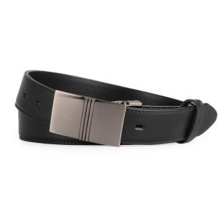 Penny Belts Pánský kožený opasek 35/020/6PS, černý - 105 černá 105