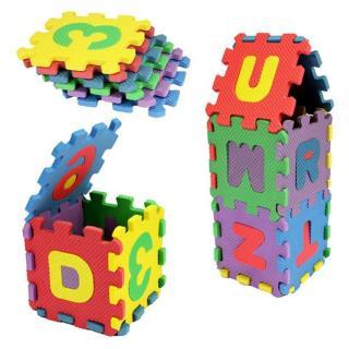 Pěnové puzzle 36 kusů