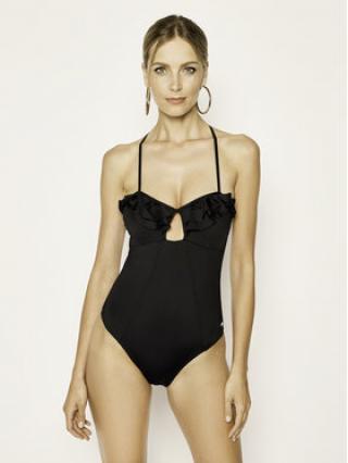 Pepe Jeans Bikiny Adaia Swimsuit PLB10278 Černá dámské XS