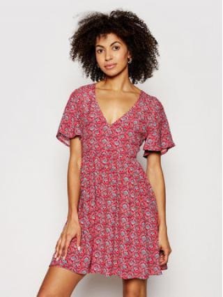 Pepe Jeans Letní šaty Carolina PL952826 Červená Regular Fit dámské XL