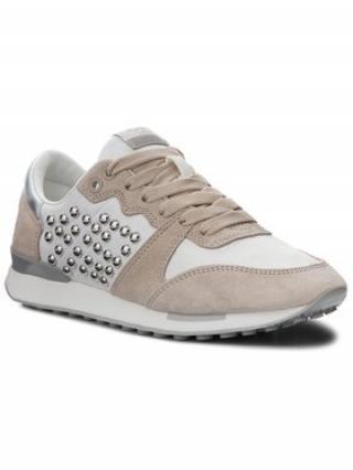 Pepe Jeans Sneakersy Bimba Studs PLS30744 Béžová dámské 38