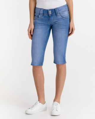 Pepe Jeans Venus Crop Šortky Modrá dámské 32