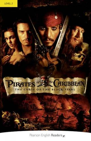 PER | Level 2: Pirates of the Caribbean:The Curse of the Black Pearl Bk/MP3 Pack