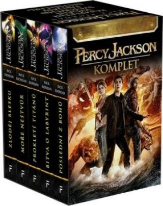 Percy Jackson 1-5 - Rick Riordan