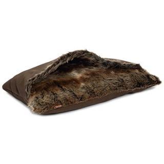 Pet Amour DBL Rizla hnědý s chlupem 67 × 43 cm