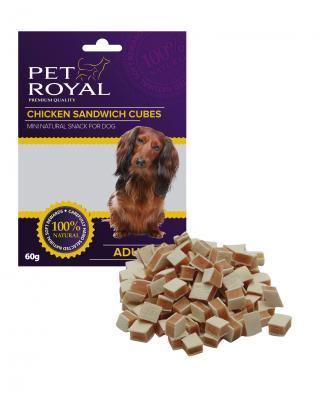 Pet Royal Dog Mini kureci sandwich kostky 60g