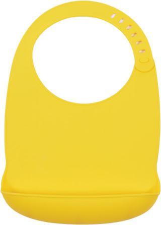 PETITE&MARS Bryndák silikonový Sam - žlutý žlutá