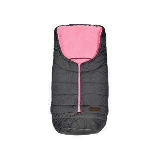 PETITE&MARS Fusak prodloužitelný Sven 3v1 Light Grey - Pink šedá