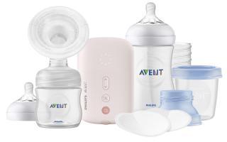 PHILIPS AVENT Odsávačka mateřského mléka elektronická Single - sada