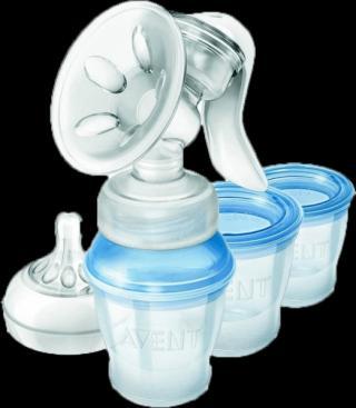 Philips AVENT Odsávačka mateřského mléka Natural s VIA systémem modrá