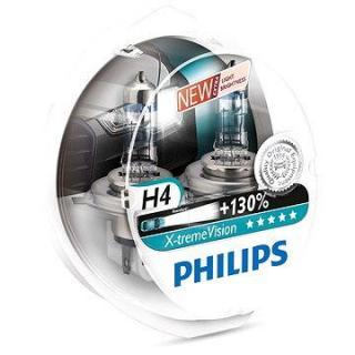 PHILIPS  H4 X-tremeVision, 60/55W, patice P43t-38, 2 ks