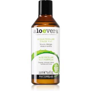Phytorelax Laboratories Aloe Vera čisticí a odličovací micelární voda s aloe vera 250 ml dámské 250 ml