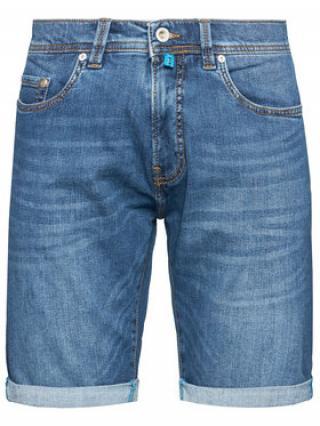 Pierre Cardin Džínové šortky 3452/000/8860 Tmavomodrá Regular Fit pánské 32