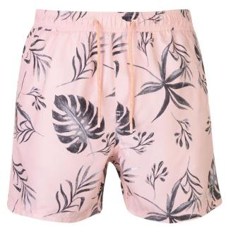 Pierre Cardin Print Swim Shorts Mens pánské Pink Palm | Other M