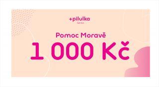 Pilulka  Voucher Pomoc Moravě v hodnotě 1000 Kč