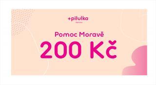 Pilulka  Voucher Pomoc Moravě v hodnotě 200 Kč