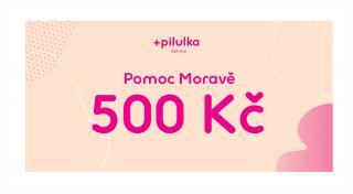 Pilulka  Voucher Pomoc Moravě v hodnotě 500 Kč