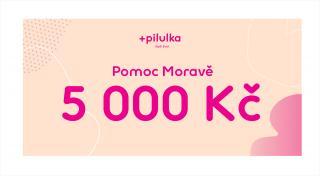 Pilulka  Voucher Pomoc Moravě v hodnotě 5000 Kč