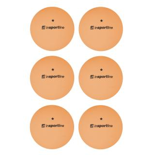Pingpongové Míčky Insportline Elisenda S1 6Ks  Oranžová