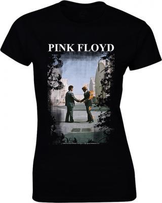 Pink Floyd Burning Man Womens L dámské Black L