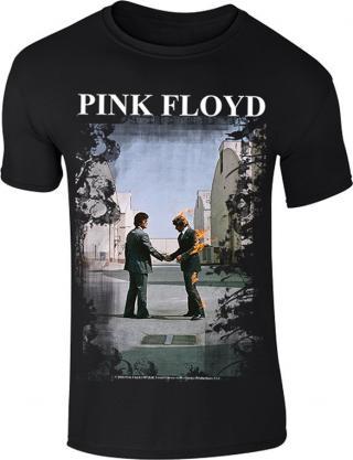 Pink Floyd Burning Man XL pánské Black XL